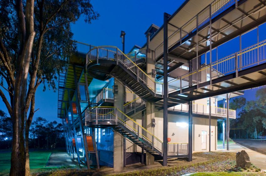 Canberra Institute of Technology Sustainable Training Hub: Development feature
