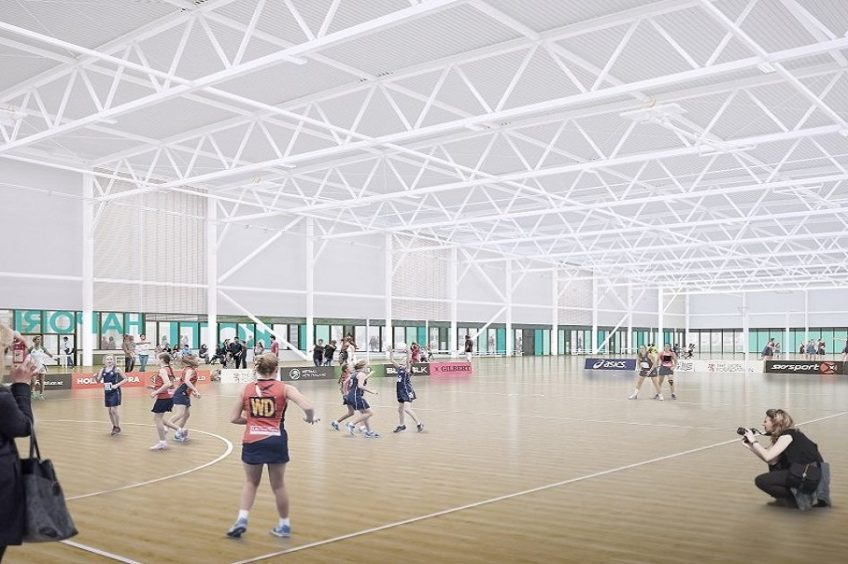 Metro Sports Facility Christchurch: Development feature