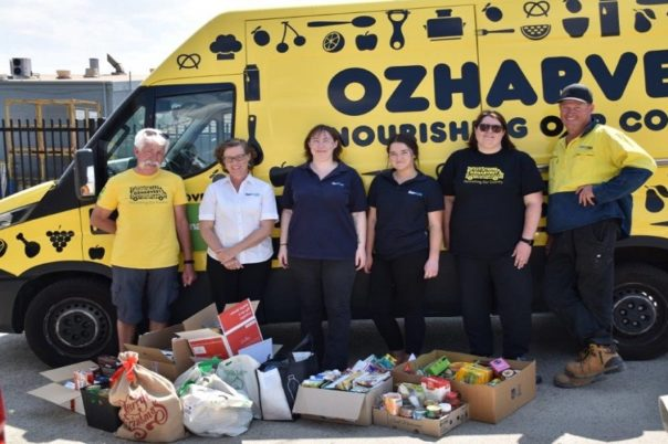 Benmax supports local food charity OzHarvest this Christmas