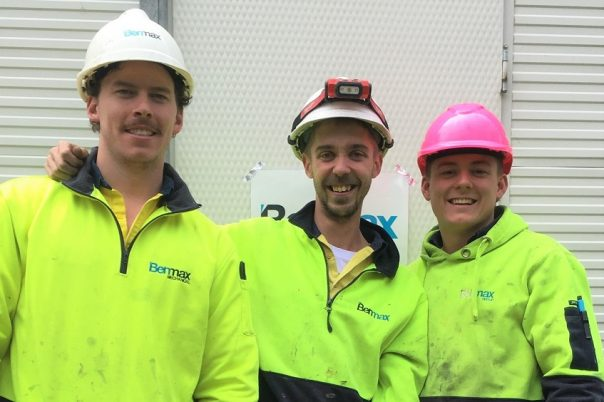 Hard work pays off for Benmax plumbing apprentices